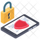 Mobile App Security Icon