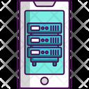 Mobile App Server Mobile App Icon
