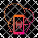 Mobile App Sync Icon