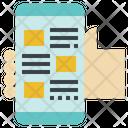Mobile News App Icon