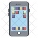 Mobile Phone Color Icon