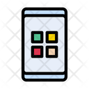 Apps Mobile Phone Icon