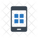 Mobile Apps Grid Icon
