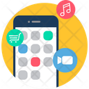 Mobile App Phone Icon