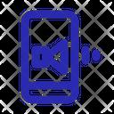 Mobile Audio Icon