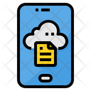 Cloud Computing Smartphone Cloud Icon