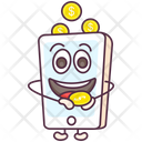 Mobile Balance Cell Credit Mobile Cash Icon