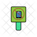 Mobile Ban Board Icon