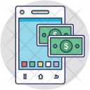 Mobile Bank Deposit Icon
