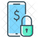 Mobile Bank Lock Mobile Icon