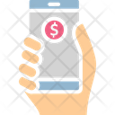 Mobile Bank Icon