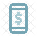 Mobile Bank Phone Payment Icon
