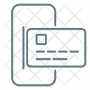 Mobile Bank Mobile Phone Bank Card Icon