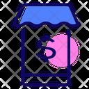 Mobile Bank Icon