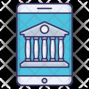 Mobile Banking Money Icon