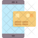 Mobile Banking Technology Communication Icon