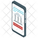 Mobile Banking Bank Phone Service Banking App Icon