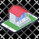 Mobile Banking Mcommerce Ebanking Icon