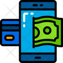 Phone Money Net Banking Icon