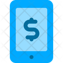 Mobile Banking Money Icon