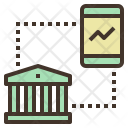 Mobile Banking Chart Icon