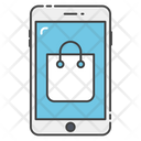 Mobile Banking M Commerce Mobile Shopping Icon