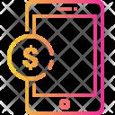 Mobile Bank Account Icon