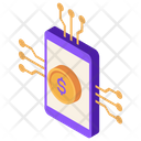 Neobank Payment Mobile Icon
