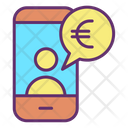 Mpayment Business Mobile Banking Euro Transfer Icon