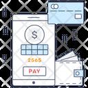 Mobile Banking Financial App Ebanking Icon