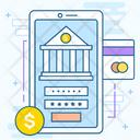 Online Banking Mobile Banking Digital Banking Icon