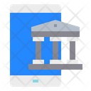 Bank Smartphone Mobilephone Icon