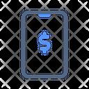 Mobile Banking Internet Icon