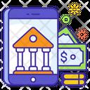 Mobile Banking Finance Internet Banking Icon