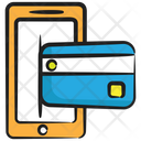 Mobile Banking Mobile Transaction Payment Gateway Icon