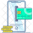 Card Payment Online Payment Mobile Banking Icon