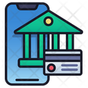 Mobile Banking Banking Business Icon