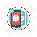 Mobile Banking M Icon