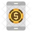 Mobile Banking Mobile Payment Digital Money Icon