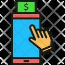 Mobile Banking Banking App Mobile Deposit Icon