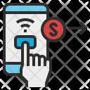 Mobile Banking Transaction Icon