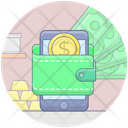Mobile Banking App Mobile Banking Mobile App Icon