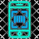 Barcode Code Mobile Icon