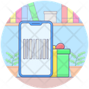 Mobile Barcode Mobile Scanner Barcode Reader Icon