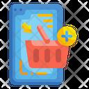 Mobile Basket Icon
