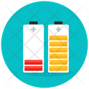 Battery Status Phone Batteries Rechargeable Batteries Icon