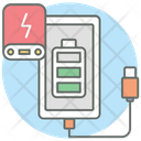 Mobile Battery Battery Cell Electric Battery Icon