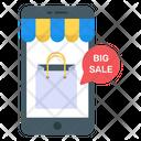 Mobile Big Sale Icon