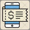 Mobile Bill Icon
