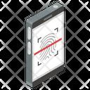 Mobile Biometric Icon